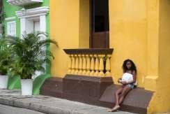 Figures colombiennes / © Frédérique Brulé